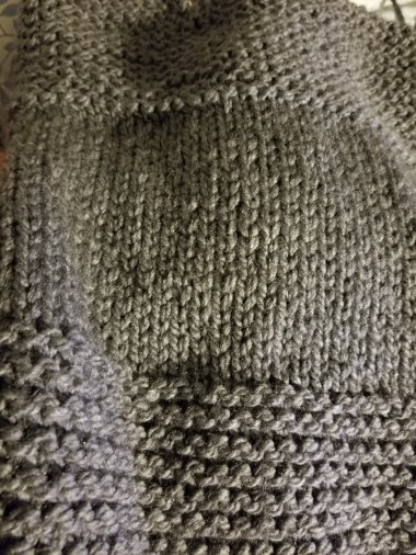 my gray chunky