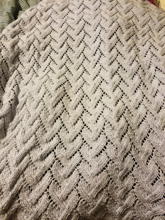 Corinne's lap blanket