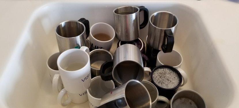 My saga of dirty coffeemugs