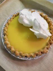Lemon meringue pre-meringue