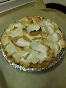 Lemon meringue done