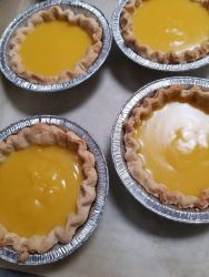 small pies lilikoi and calamansi filling