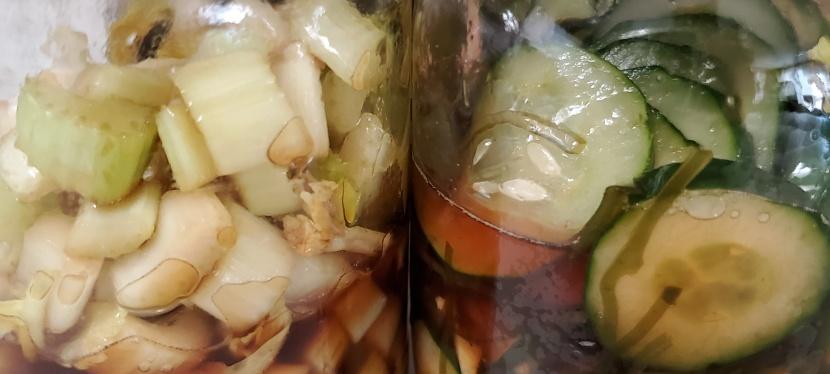 Recipe testing: Tsukemono